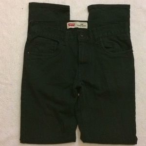 Levi's | Black super skinny jeans